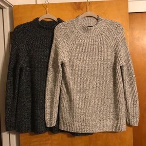 Sweaters pack of 2! Salt and Pepper colors! Cozy!